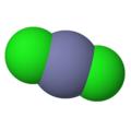 Cloruro de zinc 3D imagen molécula.png