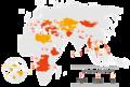 Clovek v tisni map international activities eng 2020.png