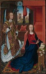 Hans Memling: The Annunciation