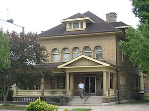 National Register of Historic Places listings in Jackson County, Ohio - Image: Clutts House