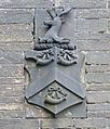 Coat of Arms, Harrowins Lodge, Brighouse Road, Queensbury (5580025957).jpg