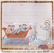 POISSON et religion  dans POISSON 220px-Codex_Egberti_fol._90r