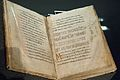 Codex Sangallensis, Regula S Benedicti, exh. Benedictines NG Prague, 150730.jpg