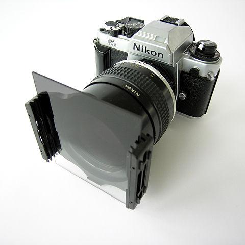 Square ND filter holder