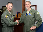 Col. Brett Clark and Col. Mike Tyynismaa.JPG