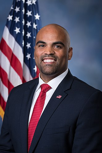 Texas's 32nd congressional district - Image: Colin Allred, official portrait, 116th Congress
