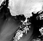 Columbia Glacier, Heather Island, Calving Terminus, November 8, 1978 (GLACIERS 1129).jpg