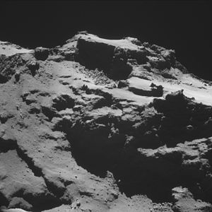 Comet 67P on 15 October 2014 NavCam C.jpg