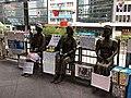 Comfort Women statues Central, Hong Kong.jpg