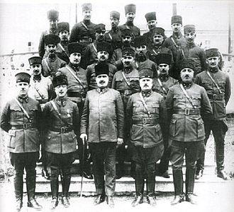 Ali Fuat Cebesoy - Image: Commanders of the Independence War (Turkey)