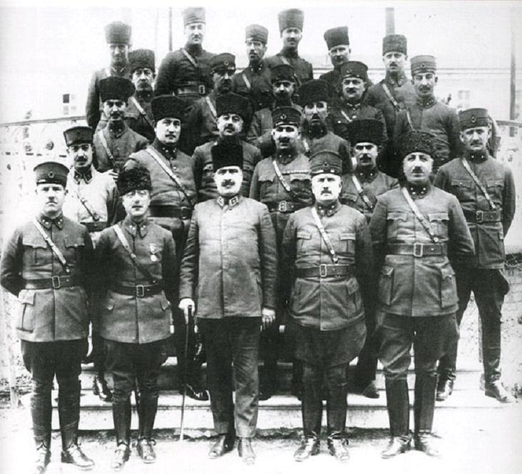 Commanders of the Independence War (Turkey)
