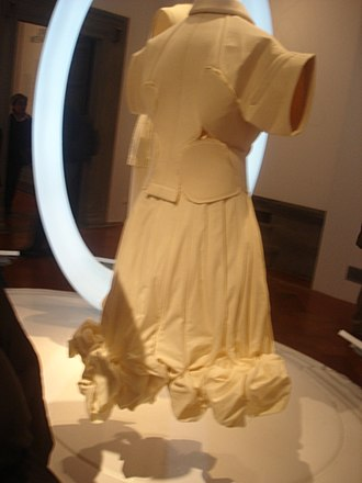 Comme des Garçons - Comme des Garçons dress on display in 2007 in a Florence, Italy museum