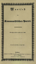 Cover of the Communist Manifesto's initial pub...