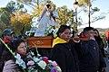 Con la Virgen del Quinche (Ecuador) en Torreciudad 2017 - 022 (24631545298).jpg