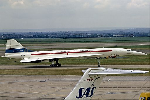 Concorde first visit Heathrow Fitzgerald