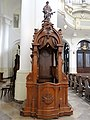 Confessional in the Saint Francis church in Warsaw - 01.jpg