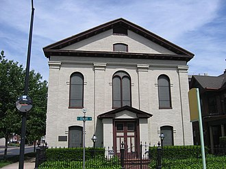 National Register of Historic Places listings in Allegany County, Maryland - Image: Congregation B'er Chayim