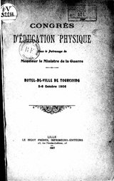 Congres education physique Tourcoing 1906.djvu