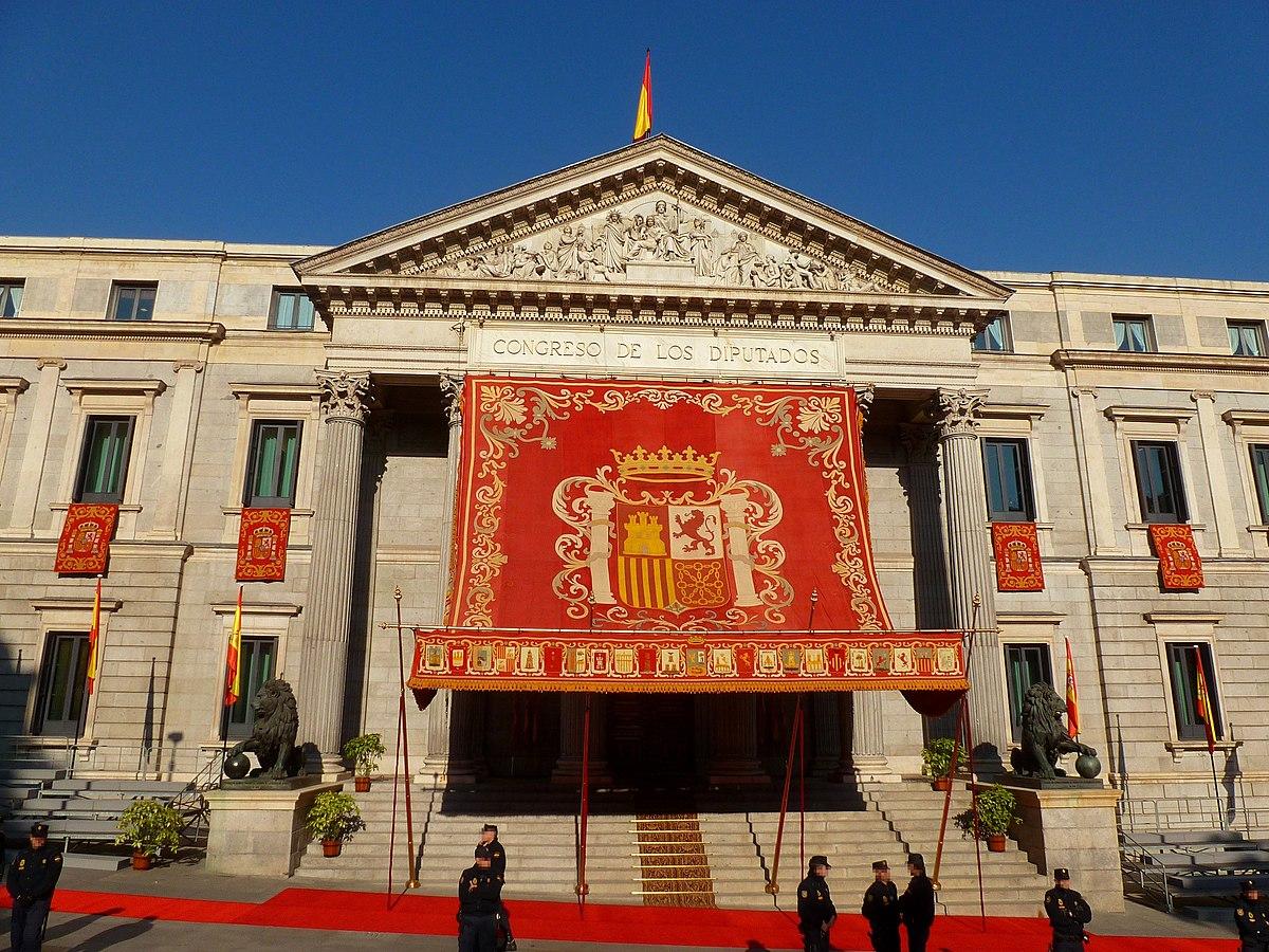 Solemne apertura de las cortes generales del reino for Cabanas en los arboles comunidad valenciana