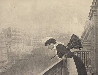 Domestic worker - Parisian maid (1906) (Image by Constant Puyo)