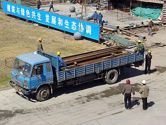 Dongfeng EQ2102 - Dongfeng 145, civilian version
