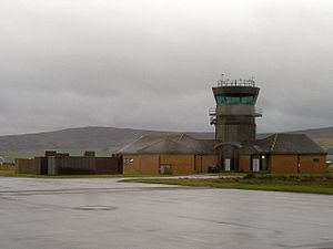 RAF Machrihanish - Control Tower
