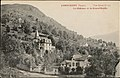 Cornimont (Vosges), Le Château et la Grand'Roche CP 4248 PsurR.jpg