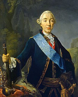 Coronation portrait of Peter III of Russia -1761 (cropped).jpg