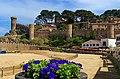Costa Brava - Tossa de Mar - Passeig del Mar - View SE on Citadel.jpg
