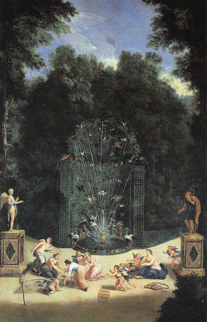 Jean Cotelle - Entrance to the labyrinth at Versailles