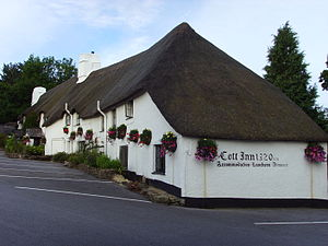 Dartington - Image: Cott inn
