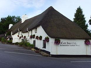 The Cott Inn, dating from 1320