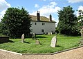 Cottages adjoining churchyard - geograph.org.uk - 861084.jpg