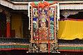 Courtyard of the Kelsang Temple, Tashilhunpo Monastery, Shigatse, Tibet (4).jpg