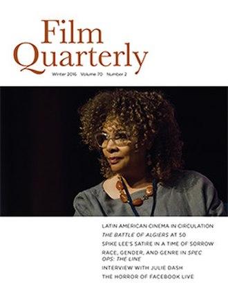 Film Quarterly - Image: Cover of 70.2
