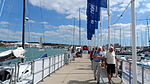 Cowes Yacht Haven during Cowes Week 2013 5.JPG