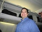 Craig Fifer on the plane (191765460).jpg