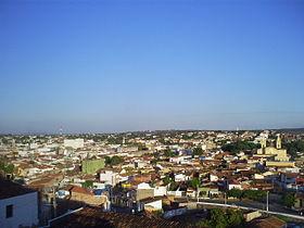 Cidade durante a tarde