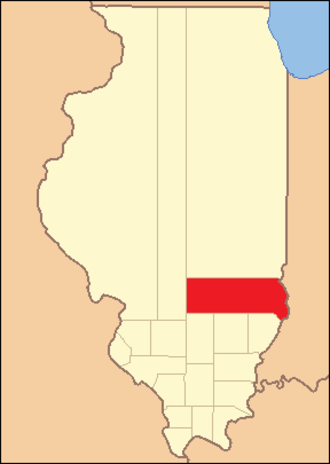 Crawford County, Illinois - Image: Crawford County Illinois 1819