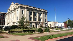 Sapulpa, Oklahoma - Creek County Courthouse, 2014