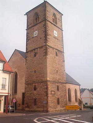 Creuzburg - The Nikolaikirche, built in 1215