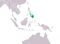 Crocodylus mindorensis Distribution.png