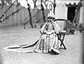 Crowning Tribhuvan of Nepal (1911) (restoration).jpg