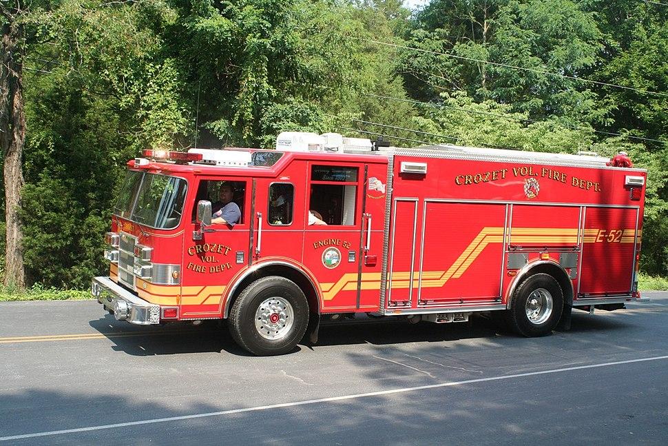 Crozet Volunteer Fire Company Truck