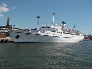 The cruise ship MV Funchal in Helsinki, June 2009