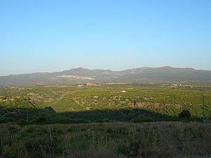 Montiferru - The Montiferru at Cuglieri.