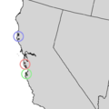 Cupressus goveniana sensu lato range map 3.png