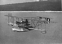 Un avion de 1919 (Curtiss NC-4)