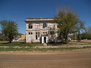 Antler, North Dakota - former U.S. Customs house in Antler