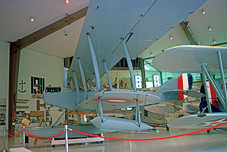 Curtiss Model N - Preserved Curtiss N-9H exhibited at the National Museum of Naval Aviation at Pensacola, Florida in 1975.